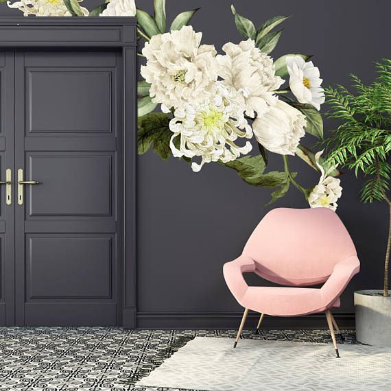 Treat your space with some classic and sophisticated blooms with these amazing watercolor floral wall decals. With each flower, a gorgeous work of art on its own, it will look like a whimsical garden on your wall, whatever the season. Wallpaper is making a comeback in a big way this year, but with a decidedly modern spin. Big and bold statement making designs are everywhere these days. With these large floral wall decals, your friends will think you hired a designer. But here is the best…