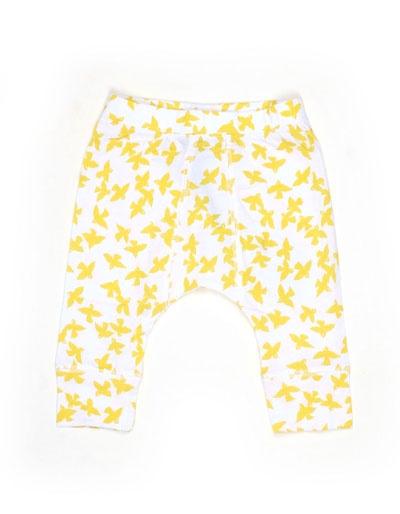 Macy broekje met gele vogeltjesprint - Stella Mccartney