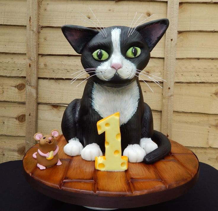 3D Cat And Mouse Cake Cakes Amp Cake Decorating Daily