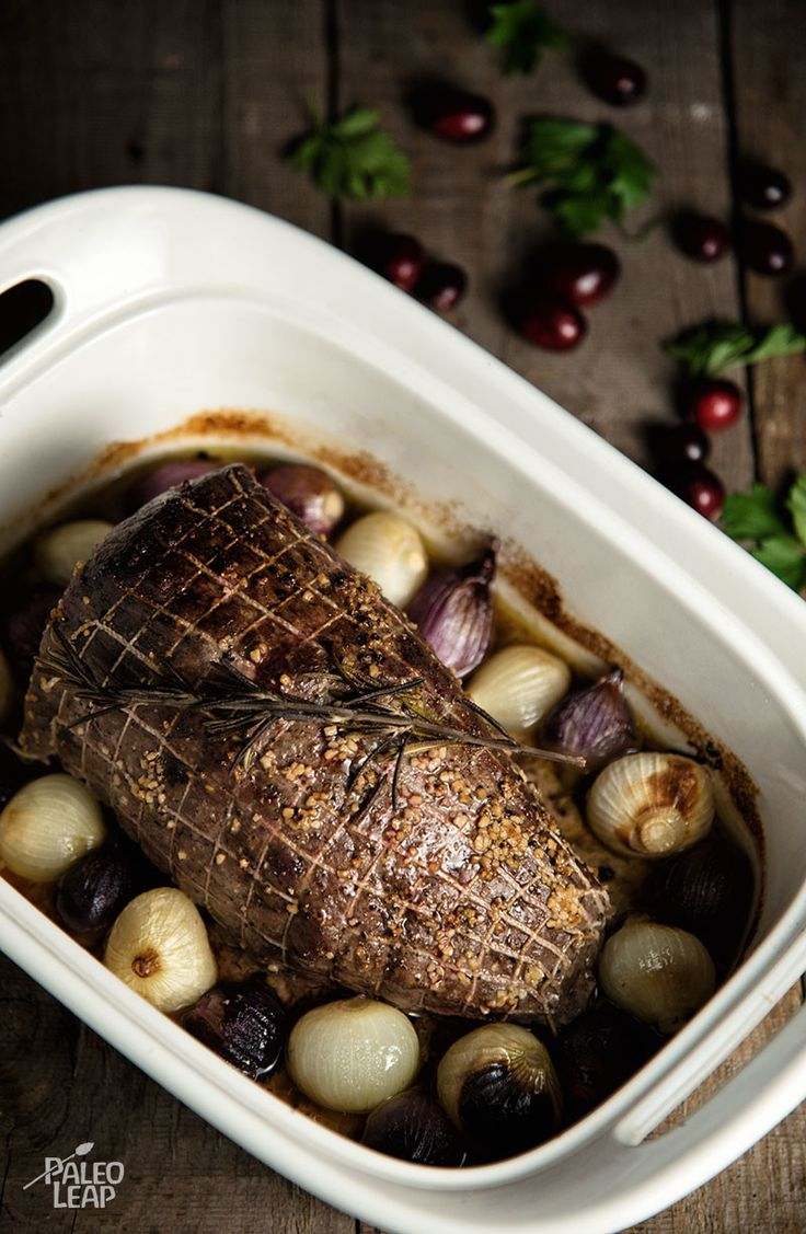 Garlic And Rosemary Roast Beef - This simple roast beef recipe is a comforting way to warm up on a chilly winter's day. (Paleo, AIP, Whole30, Gluten Free)