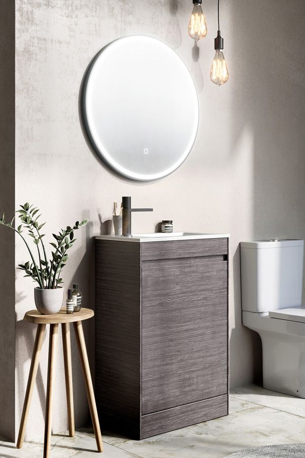 We Have A Massive Range When It Comes To Cloakroom Vanity Units These Compact Bathroom Furniture Items Are Perfect For Those Roo Oak Bathroom Bathroom Vanity Units Cloakroom Vanity Unit