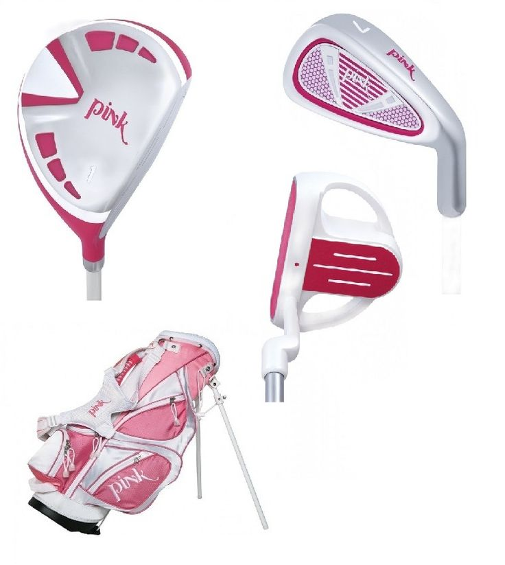 Pink 5 Club Girls Golf Set for Ages 5-7 - Free Shipping!, $125.00