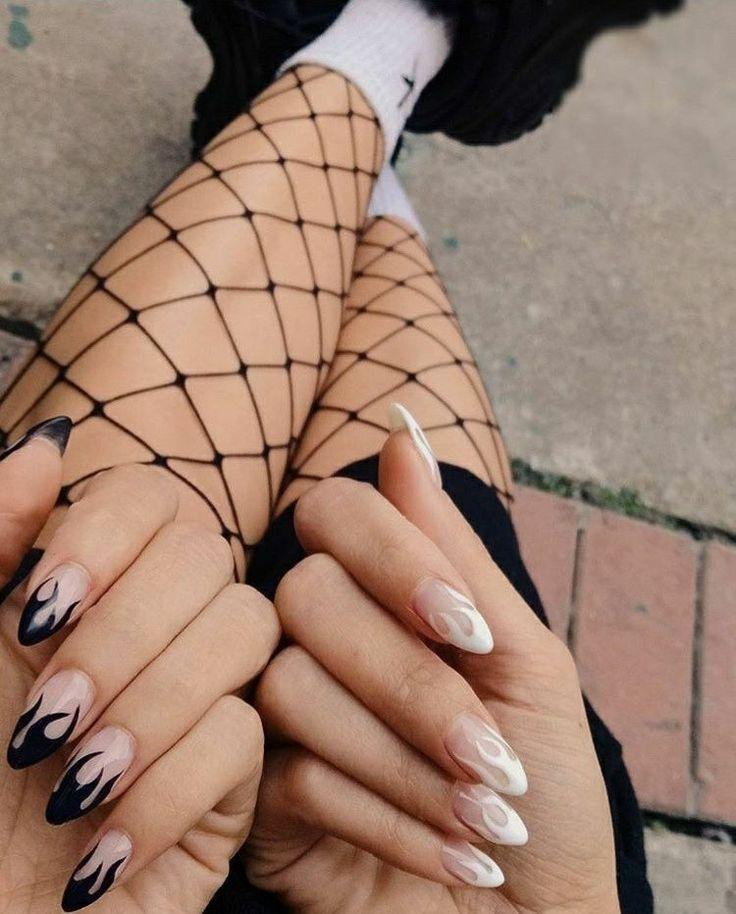 Baddie Fashion Accessories Store Almond Acrylic Nails Almond Nails Designs Short Acrylic Nails