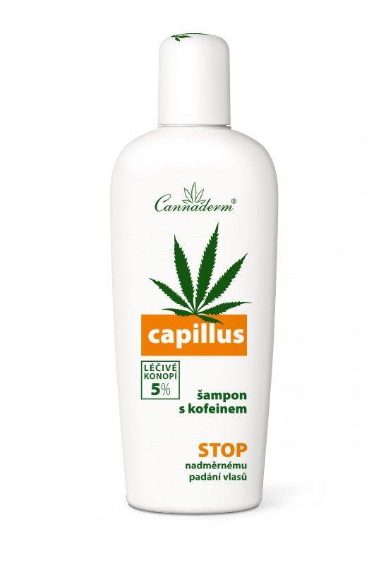 Capillus konopný šampón s kofeínom   ✔ Pri problémoch s nadmerným vypadávaním vlasov