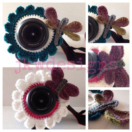 Adorable Crochet Camera Lense Friends/Buddy   WonderfulDIY.com