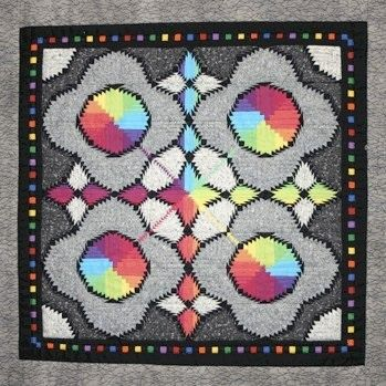 "Test Pattern | George Siciliano  2,280 pieces 15 3/4"" square"