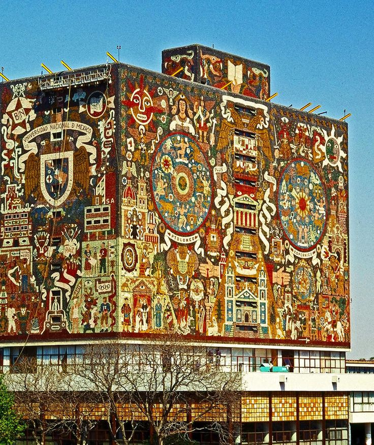 Universidad Nacional De Mexico Photograph by Juergen Weiss
