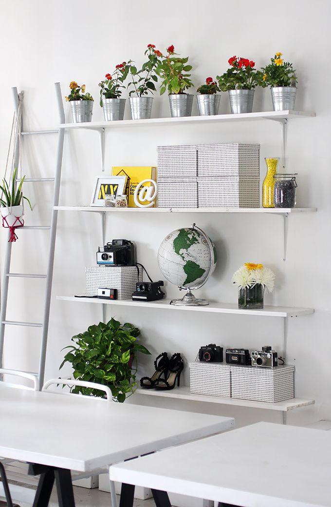 I SPY DIY WORKSPACE | Shelves