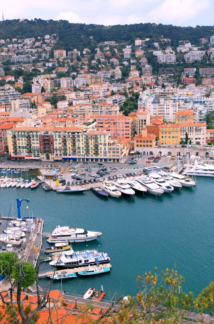 Cityscape of Nice , France