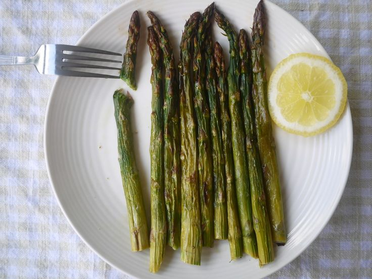 Perfectly Grilled Lemon Asparagus
