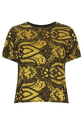 Paisley Jaquard Tee - This Is England  - Clothing