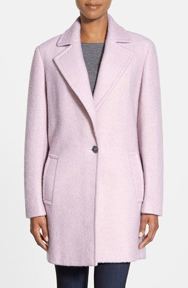 Calvin Klein Blouclé Walking Coat available at #Nordstrom