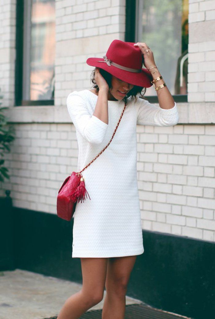 les 25 meilleures id es de la cat gorie robe rouge sur pinterest accessoires de robe rouge. Black Bedroom Furniture Sets. Home Design Ideas