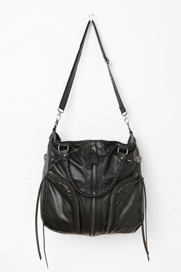 Deena & Ozzy Zip-Stitch Moto Satchel...my new purse!! With tons of pockets and zippers for storage :)) #UrbanOutfitters
