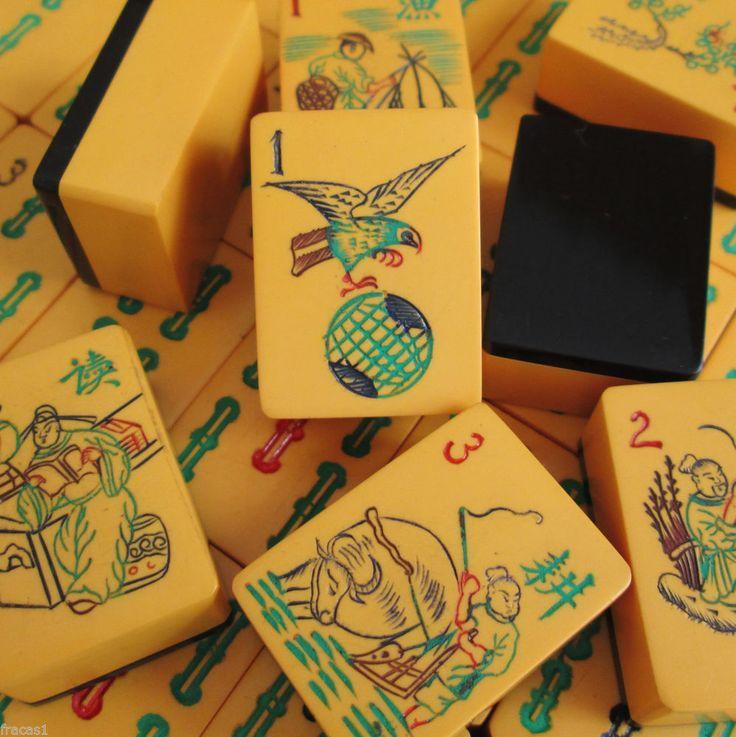 74 Best Mahjong Mah Jongg Images On Pinterest Room