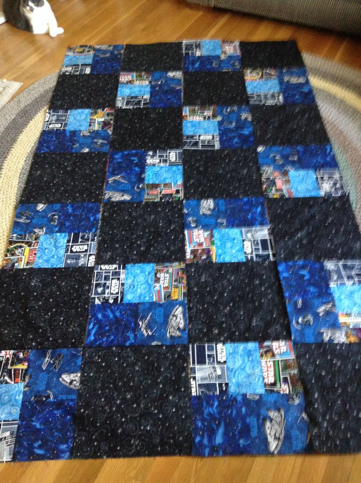 253 Best Images About Star Wars Quilts On Pinterest