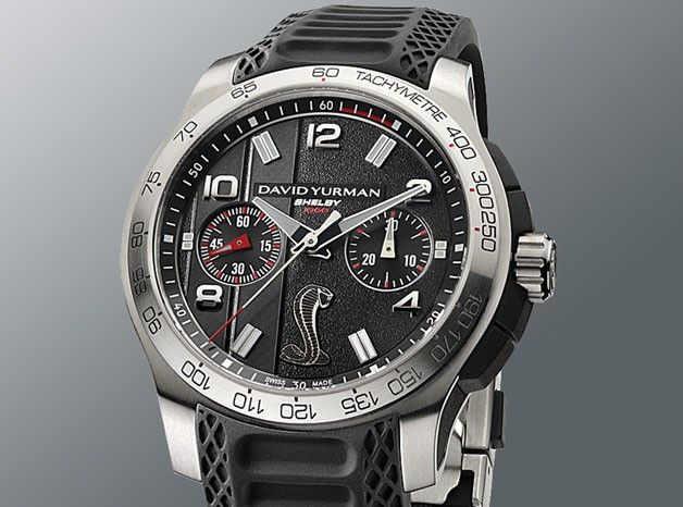 shelby teams up with david yurman for wristwatch line