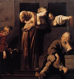 Xanthippe était l'épouse du philosophe grec Socrate, et elle est devenue l'incarnation de la mégère dans la littérature européenne. Son nom est passé en proverbe1 et il désigne alors une femme grincheuse et acariâtre, constamment en conflit avec son partenaire. Platon atteste cependant le désespoir de Xanthippe le jour où Socrate dut boire la ciguë dans le Phédon