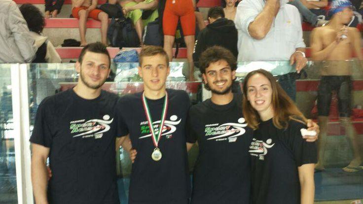 Simone Norscia con gli allenatori