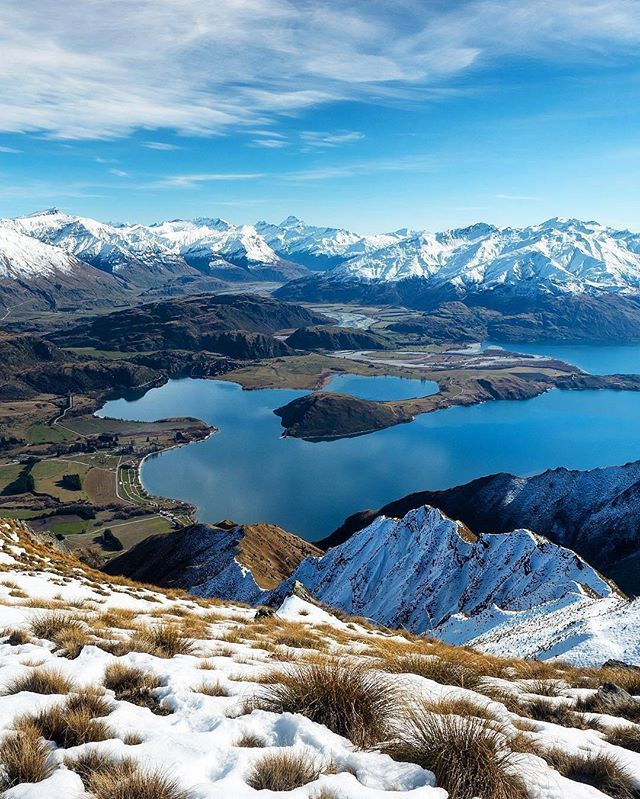 Roy's Peak, Wanaka, New Zealand by: @laurie_winter. #royspeak #wanaka #nz…