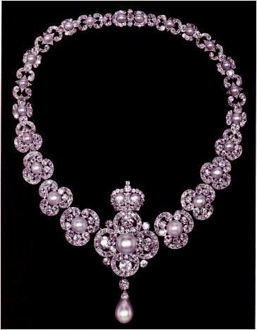 Queen Victoria's Golden Jubilee necklace, 1887.