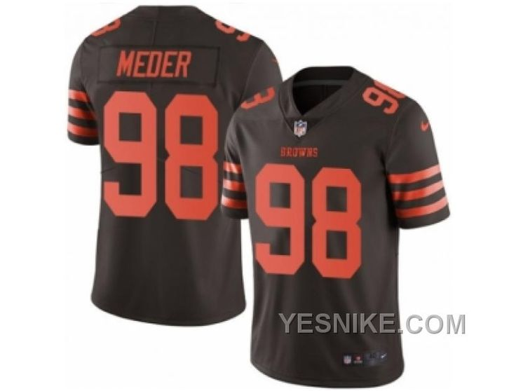http://www.yesnike.com/big-discount-66-off-mens-nike-cleveland-browns-98-jamie-meder-elite-brown-rush-nfl-jersey.html BIG DISCOUNT ! 66% OFF ! MEN'S NIKE CLEVELAND BROWNS #98 JAMIE MEDER ELITE BROWN RUSH NFL JERSEY Only $25.00 , Free Shipping!
