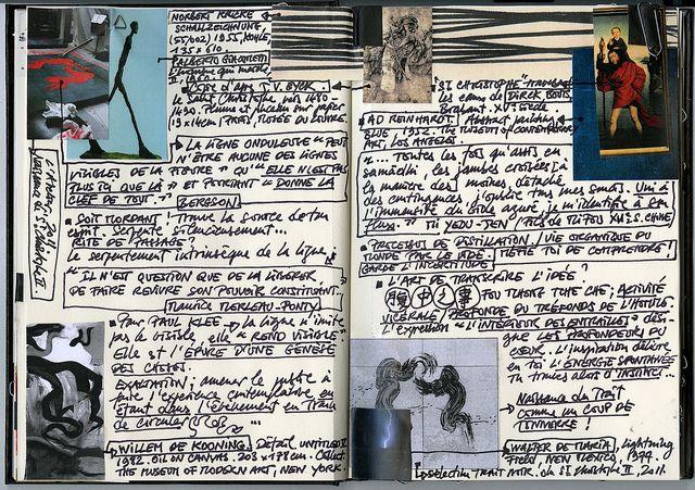 Fabienne Verdier - Contemporary Artist - L'art de la calligraphie monumentale - Carnet