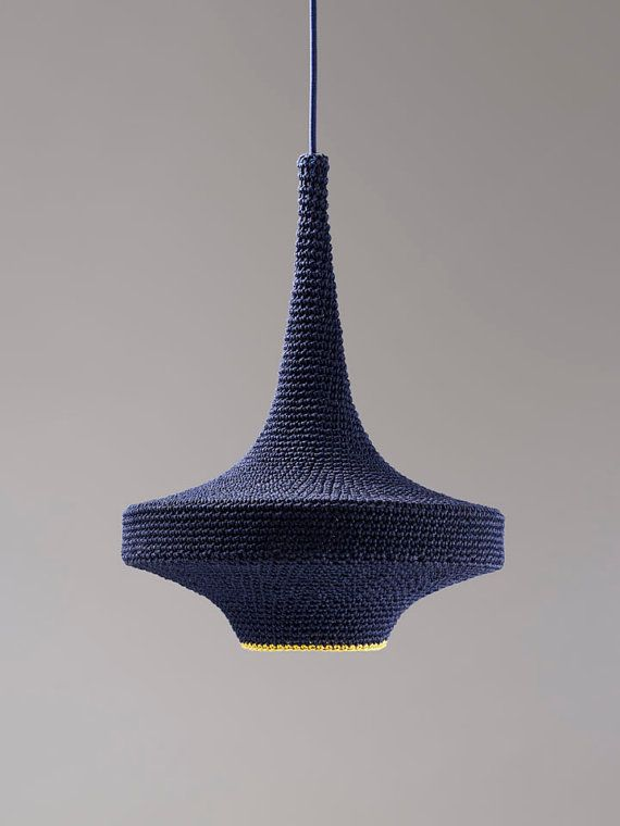 crochet light shade