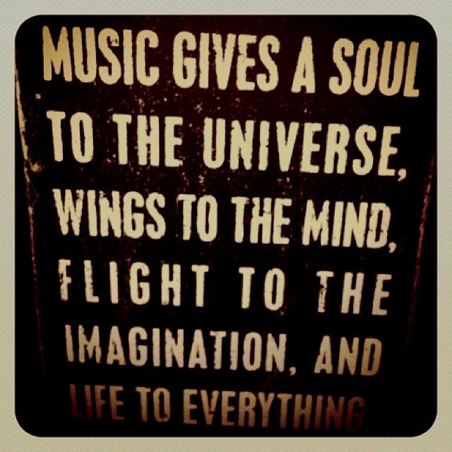 Music, music, music.