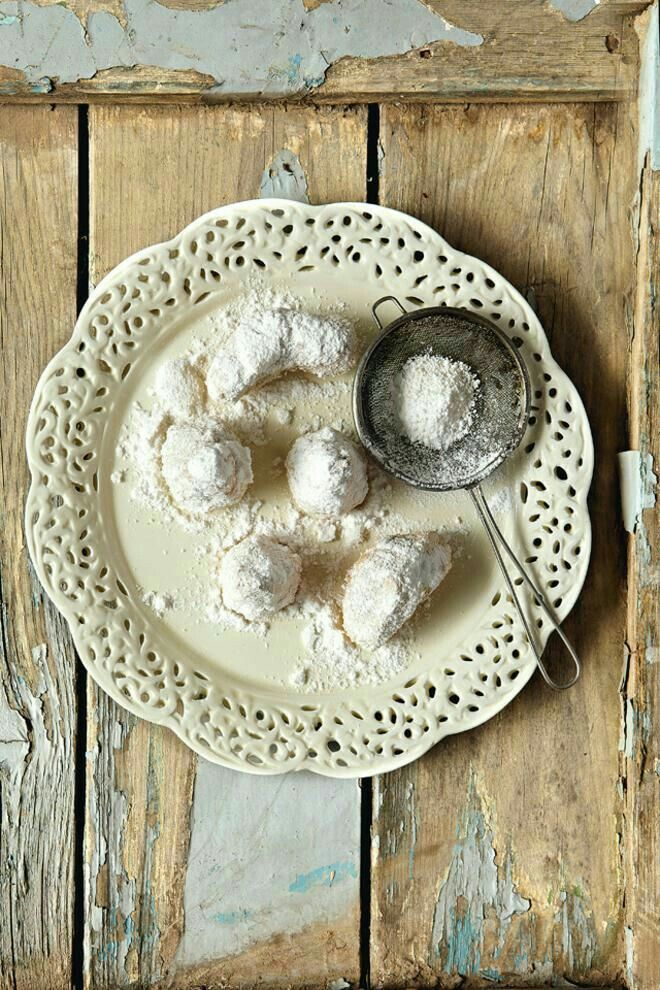 Greece-Cookies Kavala  Kurabiyesi