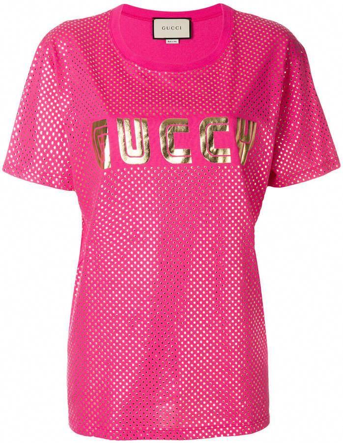 Gucci Guccy print T-shirt  1e8e85856