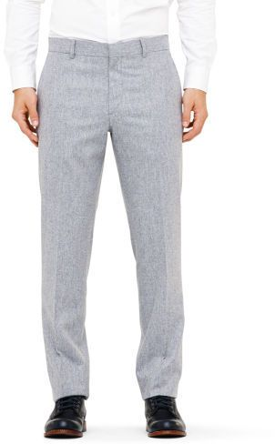 $225, Grey Wool Dress Pants: Club Monaco Made In The Usa Suit Trouser. Sold by Club Monaco. Click for more info: http://lookastic.com/men/shop_items/32221/redirect