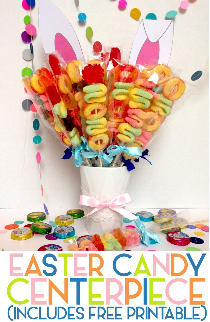 This Delightful Sugary Centerpiece Is Sure To Get The Party Hoppin
