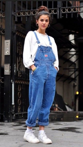jeans 90s style 90's shirt dungarees jumpsuit denim jumpsuit https://bellanblue.com/collections/new