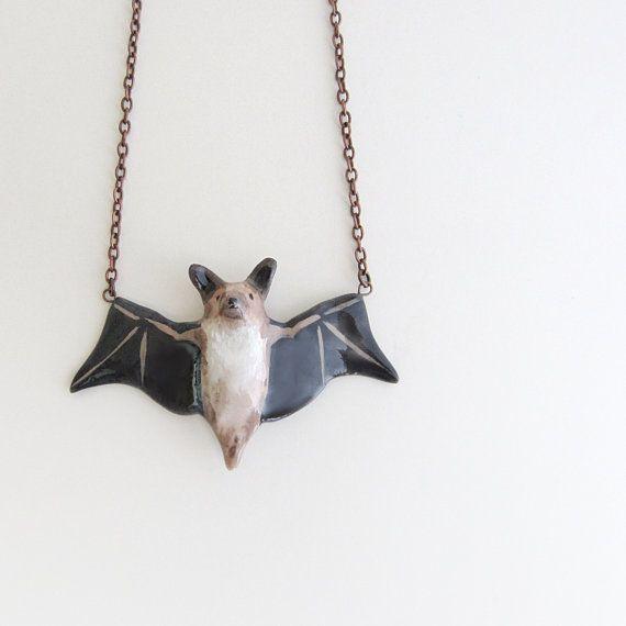 コウモリのネックレス bat necklace