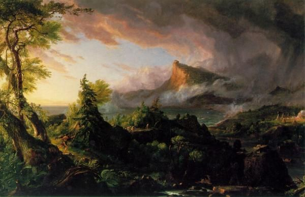 Thomas Cole, The Course of Empire: The Savage State
