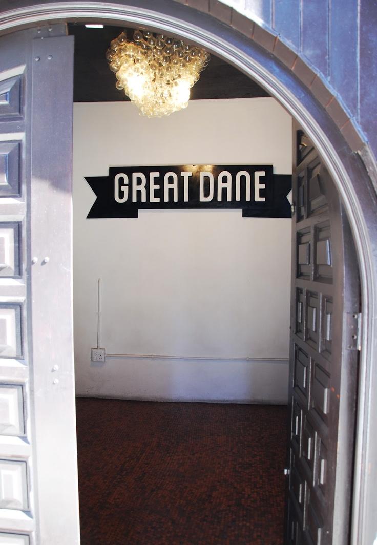 The Great Dane nightclub, next door to Kitchener's Carvery Bar, De Beer Street, Braamfontein. Photo by Paula Gruben.