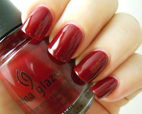 """""""Drastic"""" is a dark red jelly that's just ridiculously, deeply luscious. For ages I've been trying to find a dark, blood red that doesn't veer into burgundy or vampy black, and this one fits the bill perfectly."""