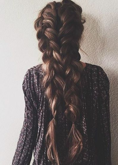 30 amazing braided hairstyles for medium and long hair – Delightful braids