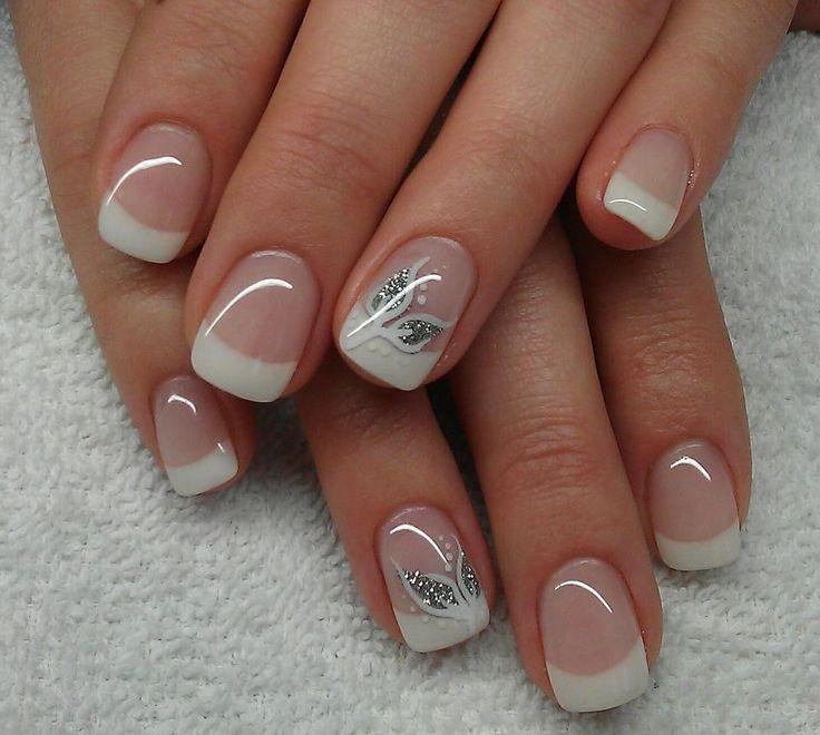 DIY Ideas Nails Art : ongles de mariage   ONGLE MARIAGE...  https://diypick.com/beauty/diy-nails-art/diy-ideas-nails-art-ongles-de-mariage-ongle-mariage/