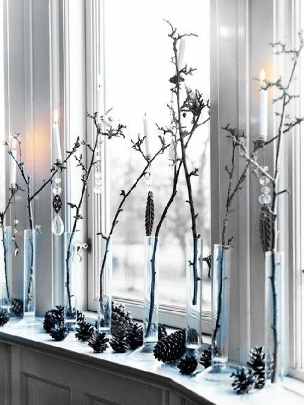 Best 20+ Weihnachtsdeko Fensterbank Ideas On Pinterest | Herbst ... Deko Fensterbank Wohnzimmer