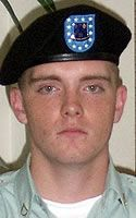 Army Spc. Nicholas E. Wilson  Died March 11, 2005 Serving During Operation Iraqi Freedom  21, of Glendale, Ariz.; assigned to the 1st Battalion, 9th Infantry Regiment, 2nd Brigade Combat Team, 2nd Infantry Division, Camp Casey, Korea; killed while conducting a roving patrol March 11 when the shoulder of the road he was on collapsed and his military vehicle rolled into a water-filled ditch in Ramadi, Iraq.