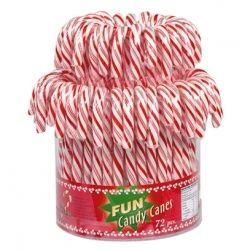 Candy Canes classiques en seau de 72 unités
