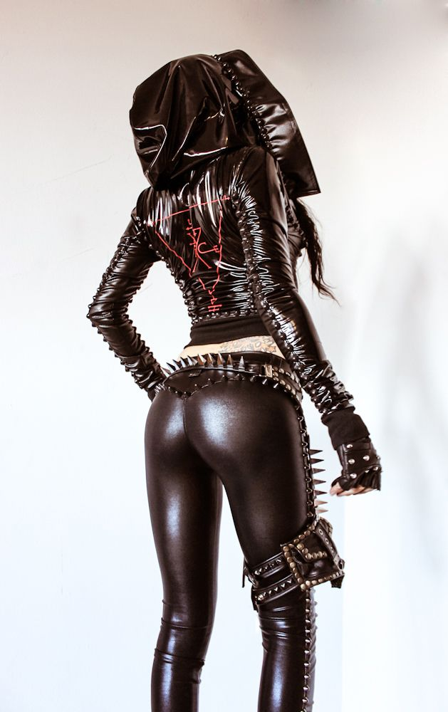 Latex fetish outfits
