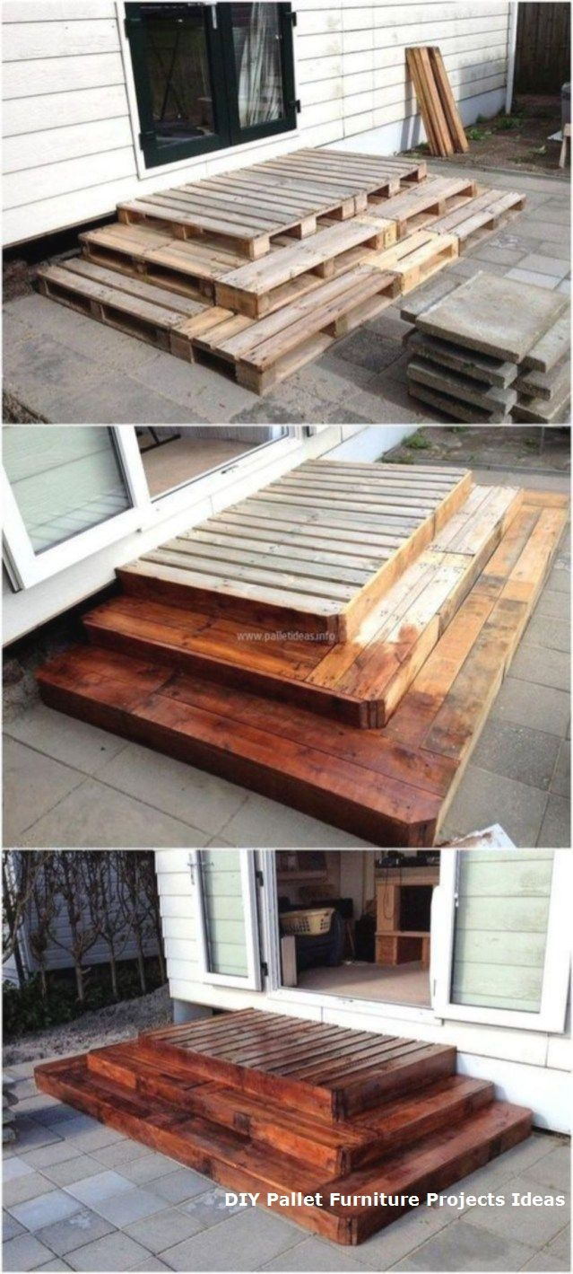 Cheap DIY Pallet Ideas For Tiny House 31