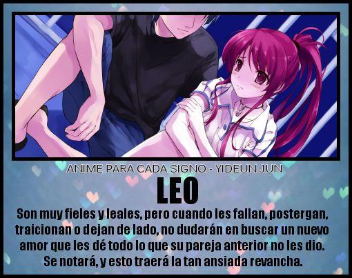 Pin de Mery Jimenez en Horoscopo | Leo y Anime