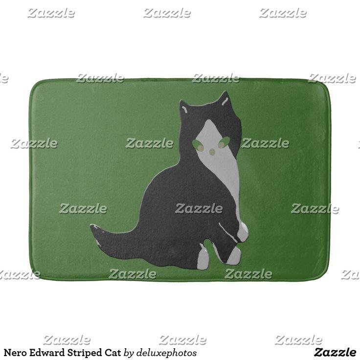 Nero Edward Striped Cat Bath Mat