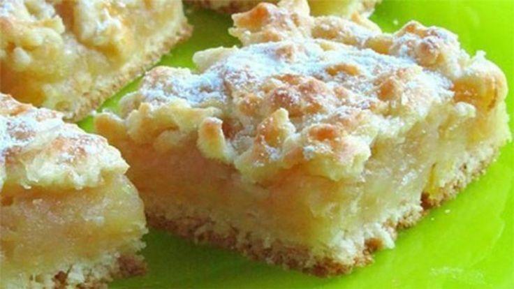 Házi készítésű sütemény, almával és citrommal, fenséges!