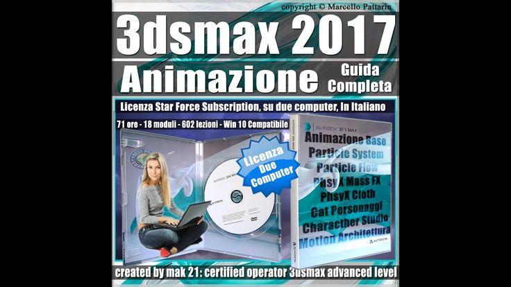 Video Corso Autodesk 3ds max 2017 Animazione Presentazione