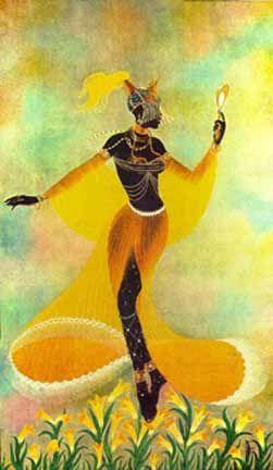 Oxum - Na religião yoruba, é uma orixá que reina sobre a água doce dos rios, o amor, a intimidade, a beleza, a riqueza e a diplomacia. Também é um orixá do candomblé.